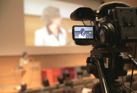 Live camera projectie conferentie FOD Sociale Zekerheid