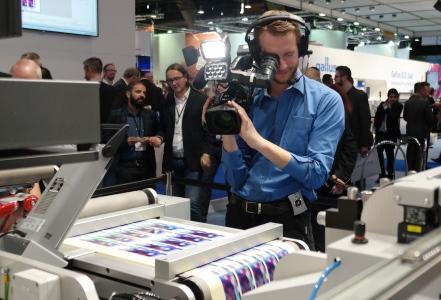 LabelExpo 2015: cameraman zorgt voor extra verkoop